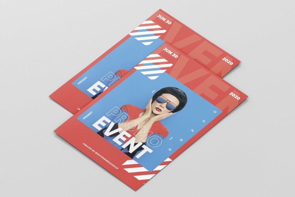 活动海报宣传单素材模板Event Poster Template插图