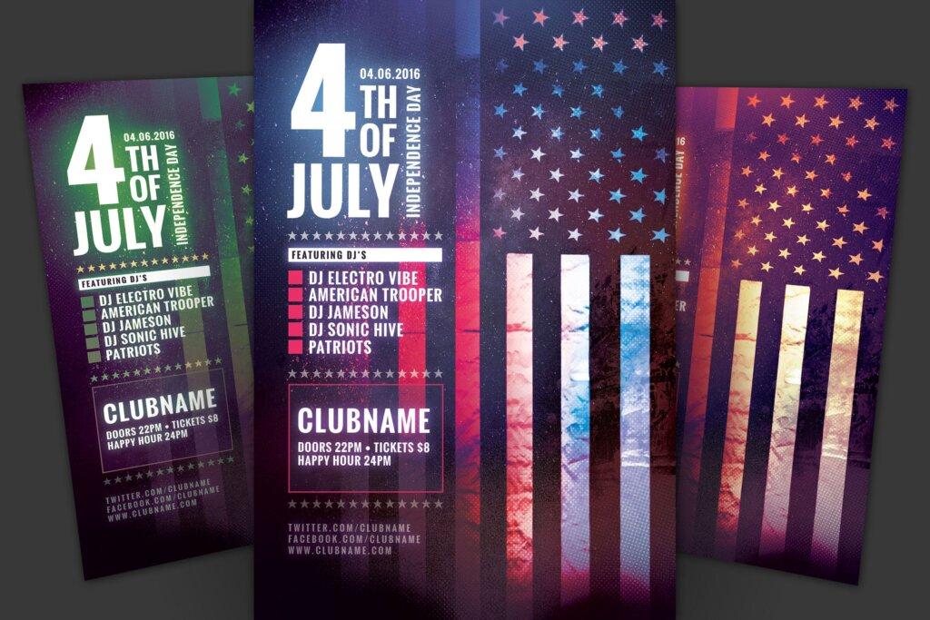 著名的夜总会场景海报传单模版素材下载UFB7ER插图