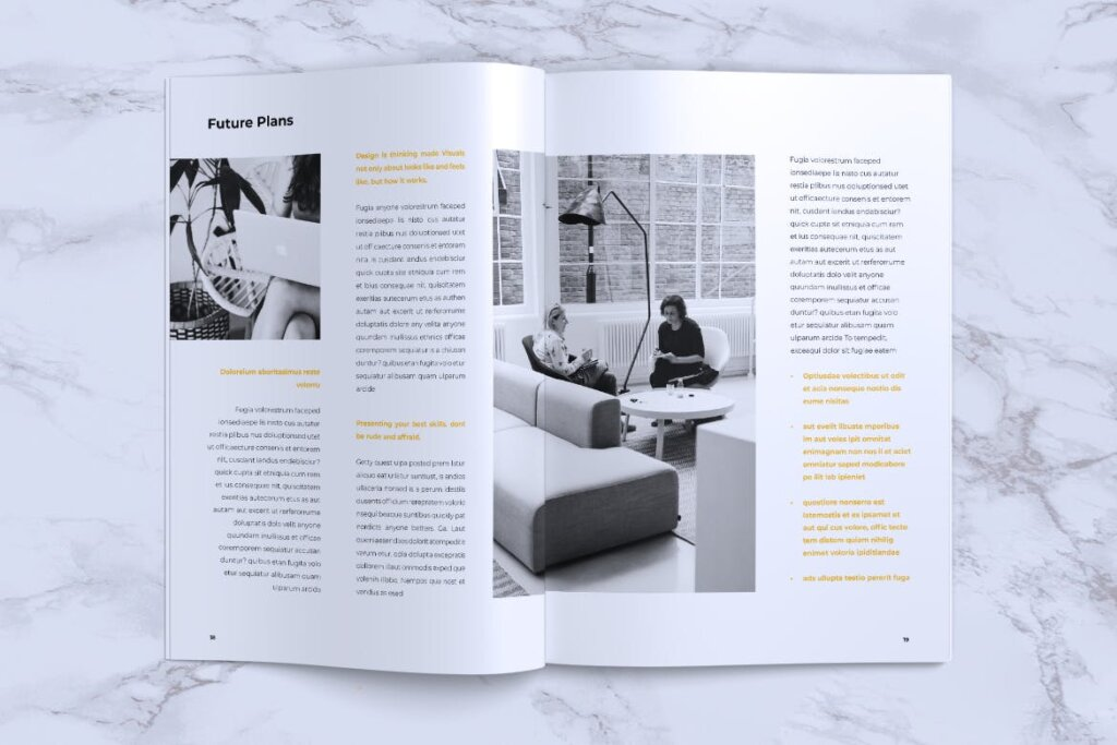 企业产品手册画册模板素材下载INFORM Company Profile Brochure插图(9)