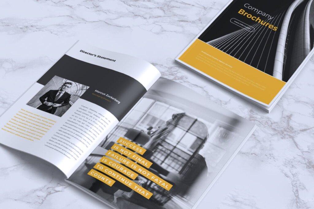 企业产品手册画册模板素材下载INFORM Company Profile Brochure插图(12)