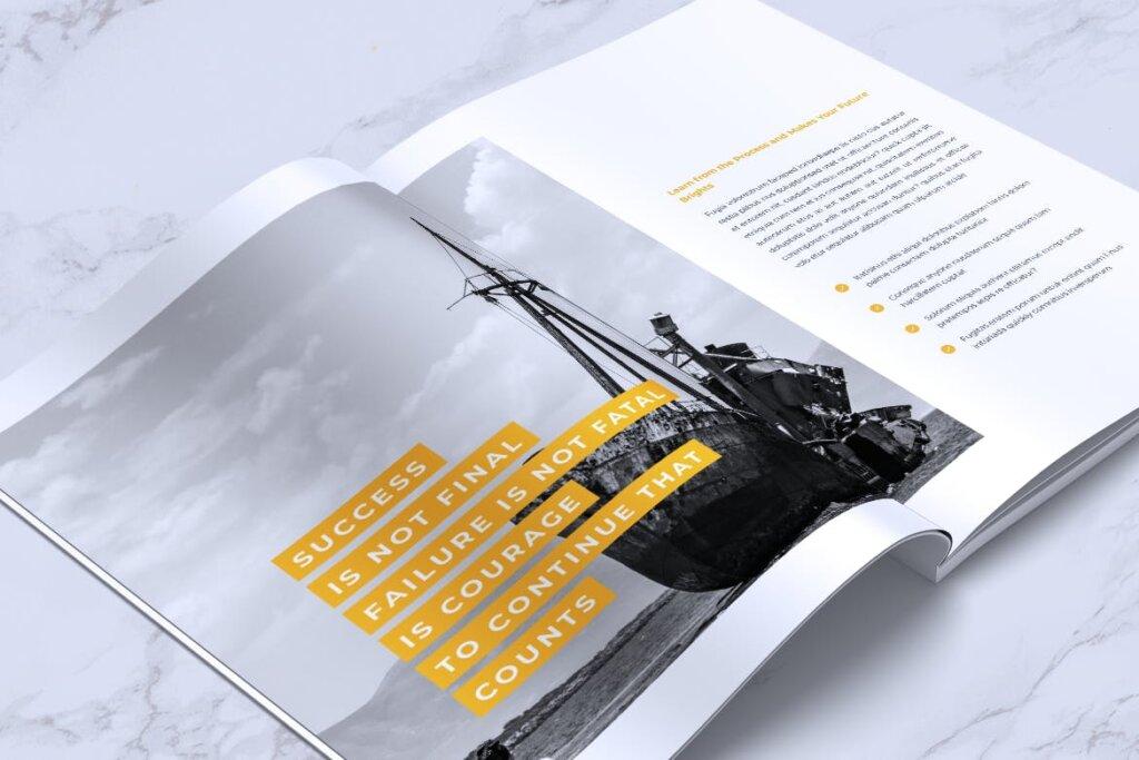 企业产品手册画册模板素材下载INFORM Company Profile Brochure插图(13)