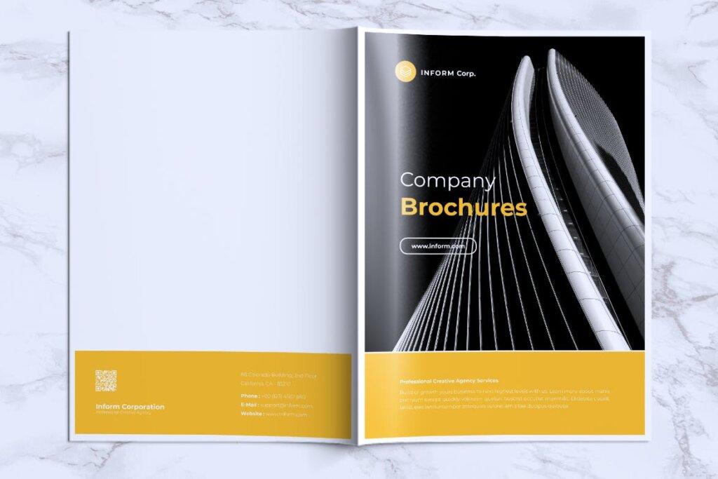 企业产品手册画册模板素材下载INFORM Company Profile Brochure插图(14)