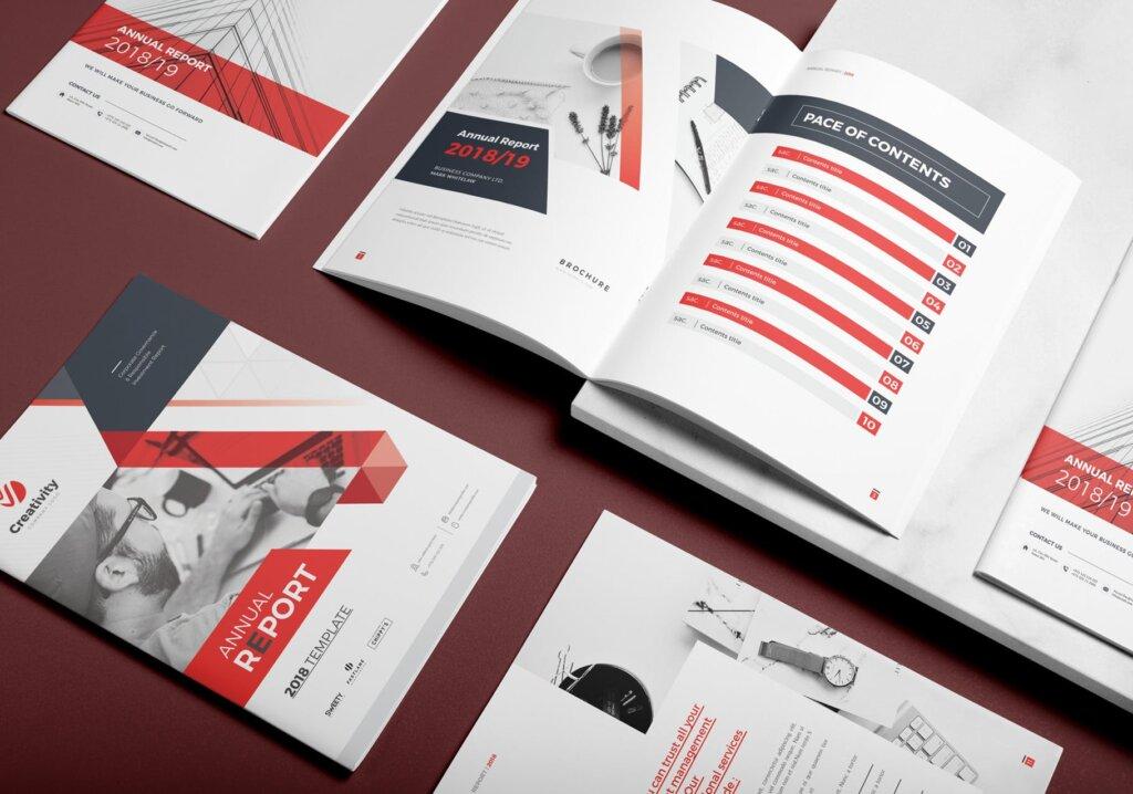 企业文化手册产品介绍手册模板素材下载AZT54D插图(1)