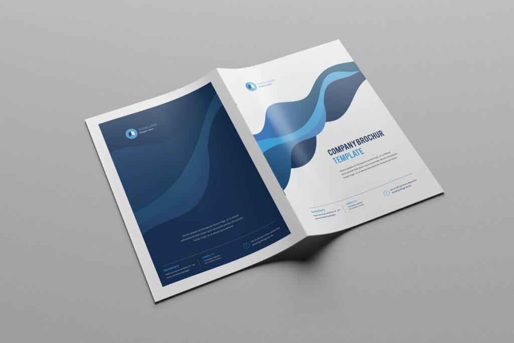 现代多用途小册子传单海报模板素材下载Clean Modern Multipurpose Brochure V2插图(1)