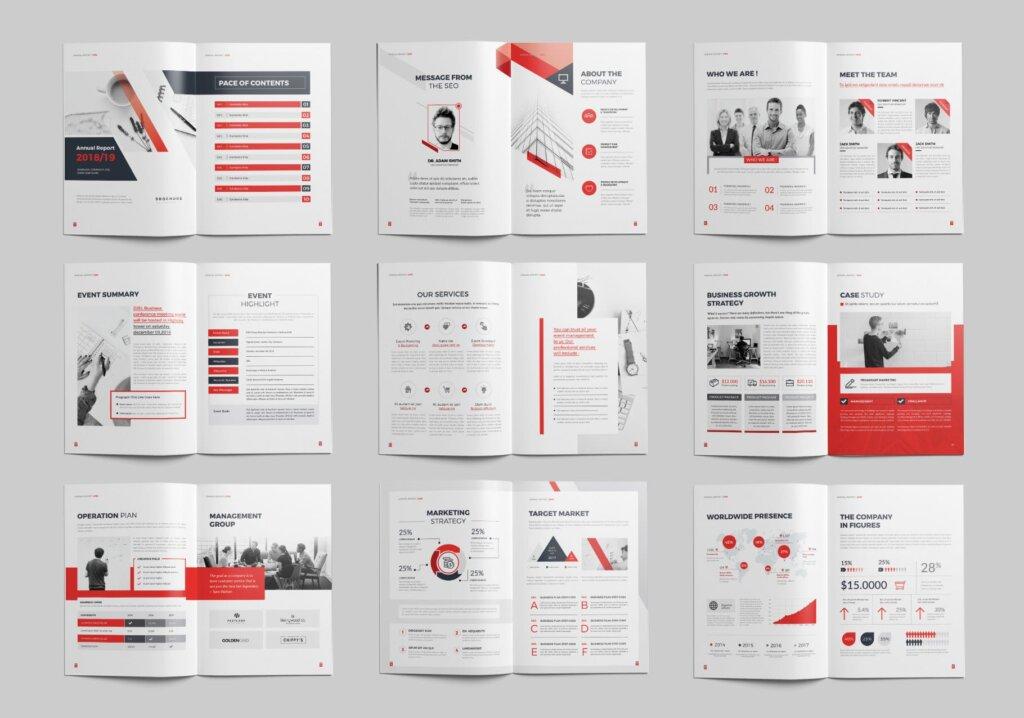 企业文化手册产品介绍手册模板素材下载AZT54D插图(2)