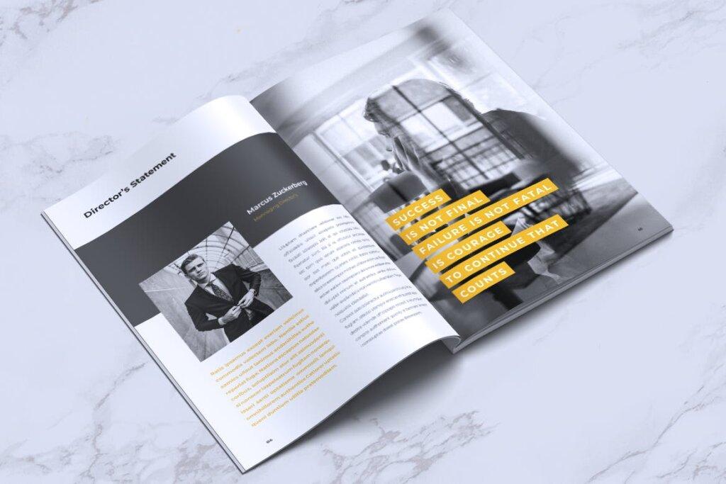 企业产品手册画册模板素材下载INFORM Company Profile Brochure插图(2)