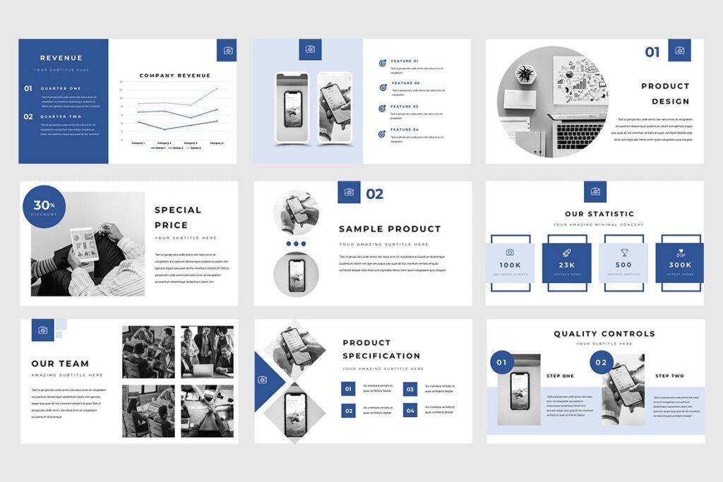 企业融资策划提案幻灯片PPT模版下载Manola Pitch Deck Powerpoint Presentation插图(3)