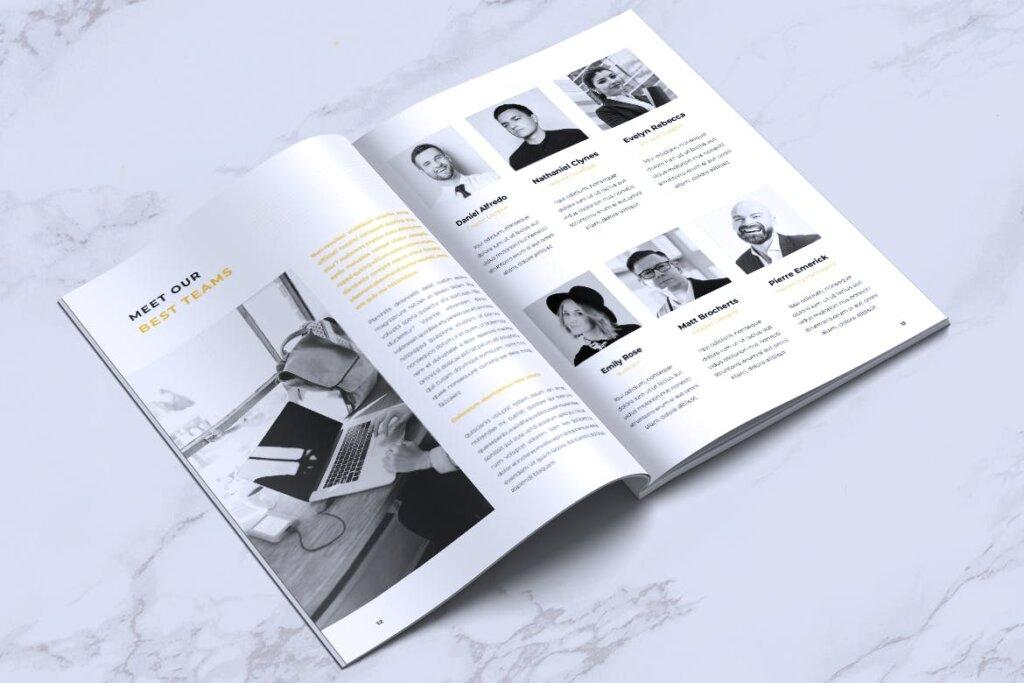 企业产品手册画册模板素材下载INFORM Company Profile Brochure插图(6)