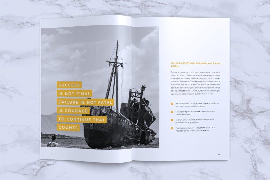 企业产品手册画册模板素材下载INFORM Company Profile Brochure插图(7)