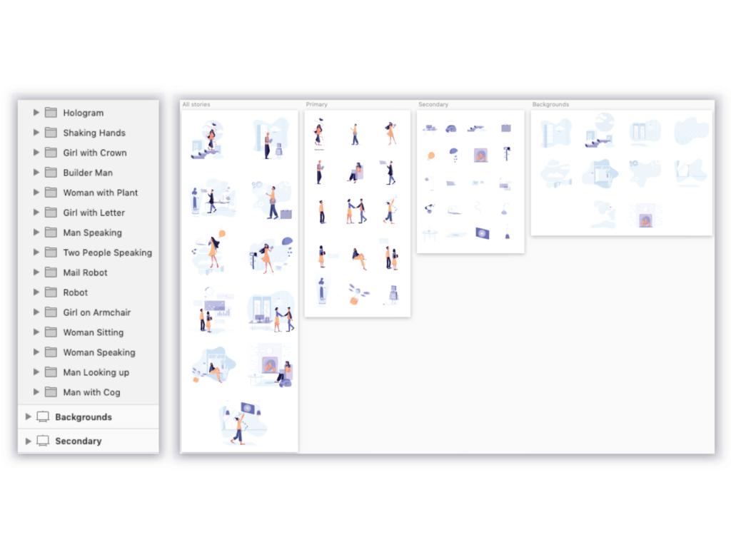 35个商务插图办公场景插图素材模板下载Awesome Illustrations插图(5)