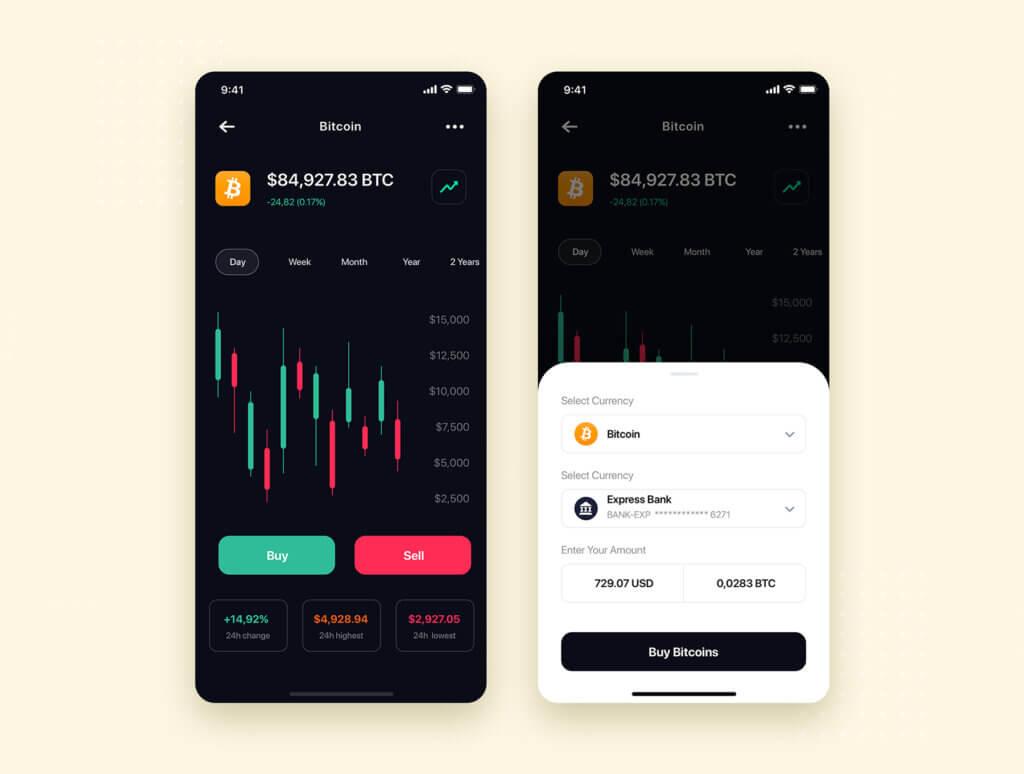 加密钱包货币数字/金融UI设计套件工具包Curium – Financial UI Kit插图(5)