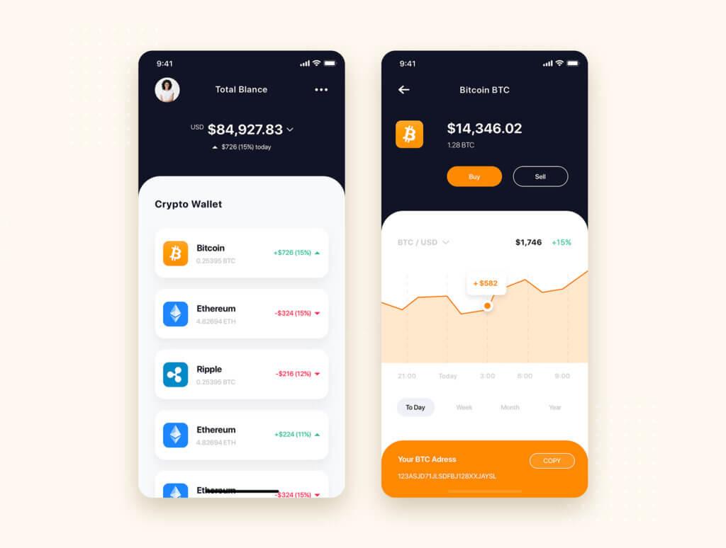 加密钱包货币数字/金融UI设计套件工具包Curium – Financial UI Kit插图(10)