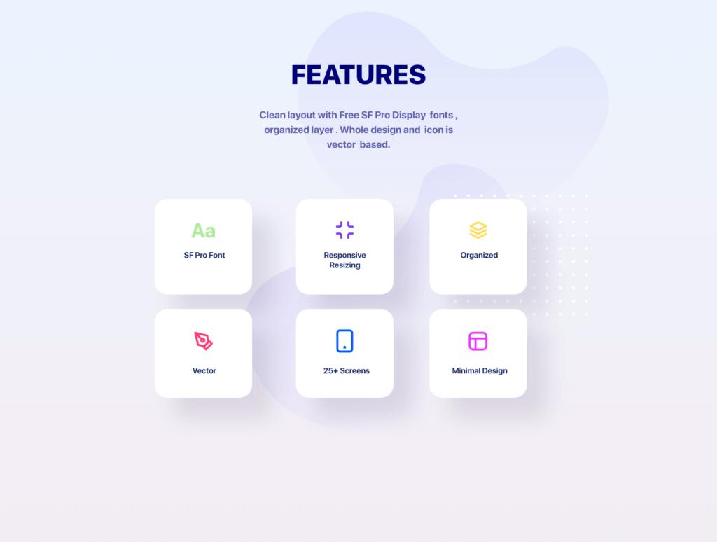 滑板车租赁主题概念UI界面设计套件素材模板素材Glow App Ui Kit插图(3)