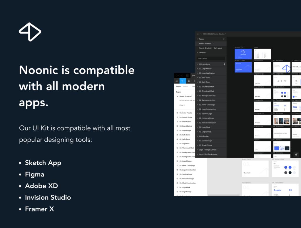 品牌书籍和风格指南演示模板素材下载Noonic – Brand Identity & Style Guide插图(3)