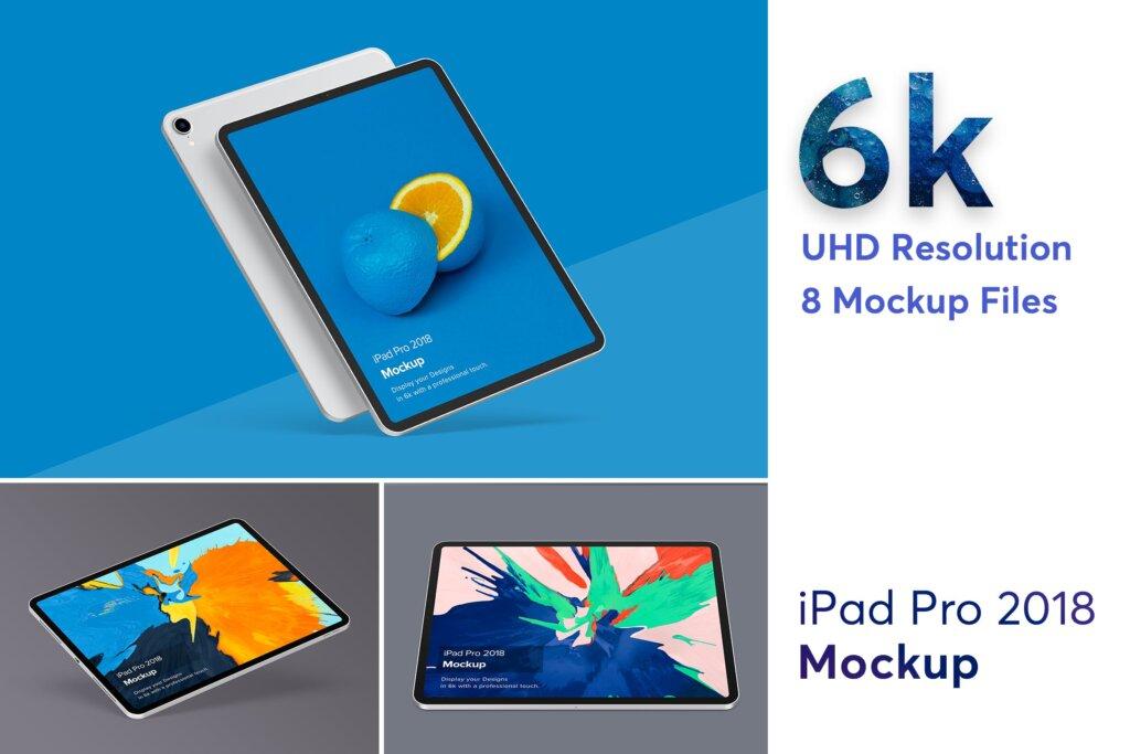 2018版iPad Pro样机素材模型素材下载iPad Pro Mockup插图
