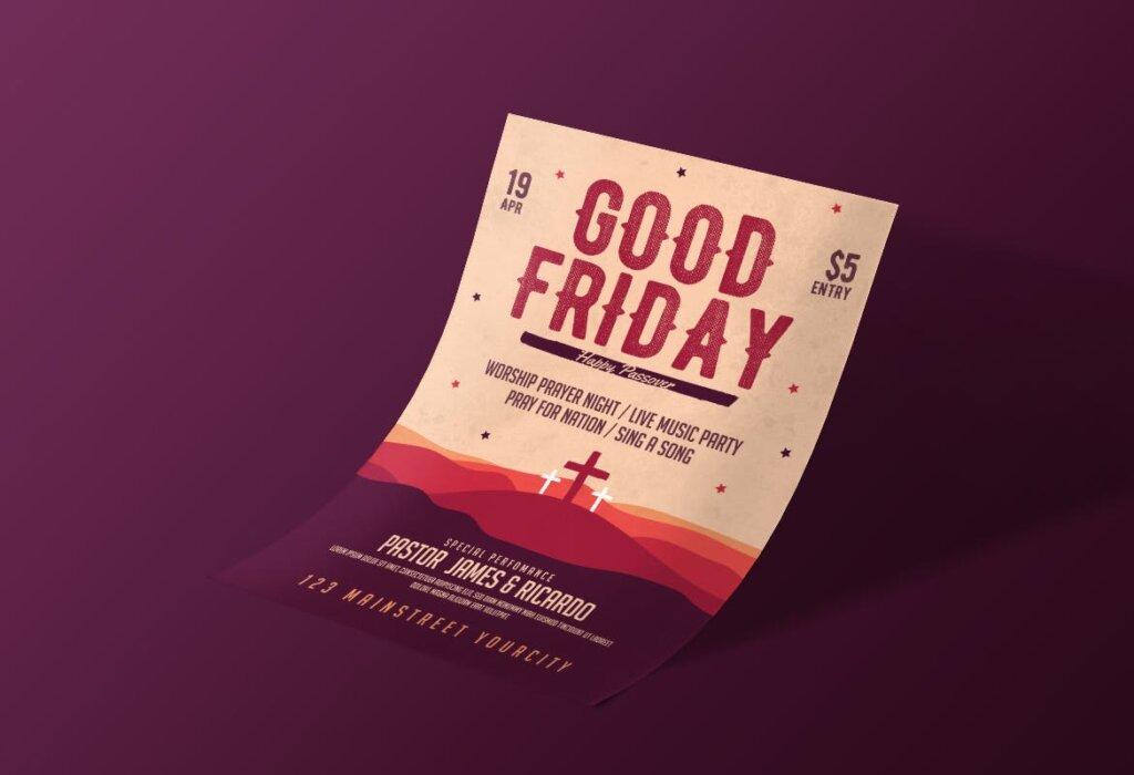 复活节海报活动宣传单模板Easter Flyer插图(3)