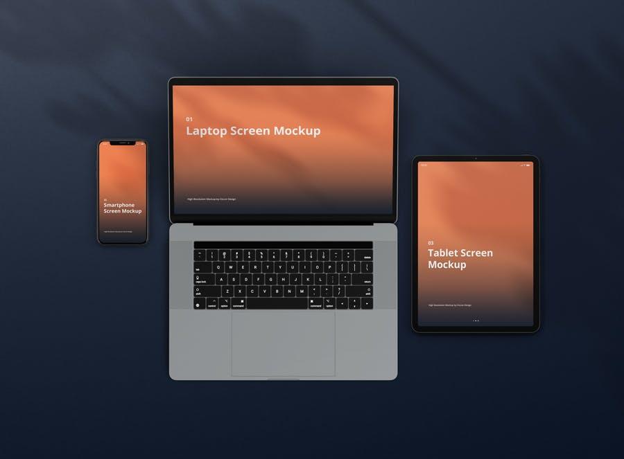11种不同的设备样机素材下载Multi Device Screen Mockup Creator插图(3)