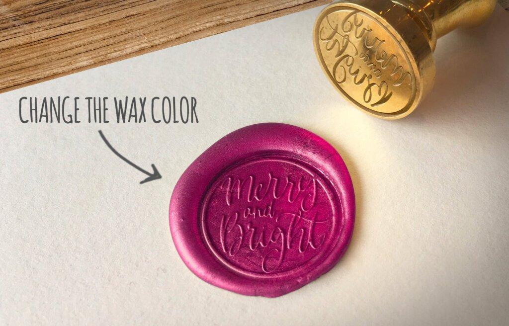 精致文艺蜡印章标志模型样机素材下载Wax Seal Logo Mockup Vol 3插图(4)