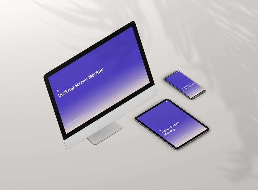 11种不同的设备样机素材下载Multi Device Screen Mockup Creator插图(4)