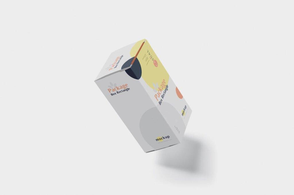 包装盒模型素材样机素材下载Package Box Mock Up Rectangle NMX66G5插图(5)