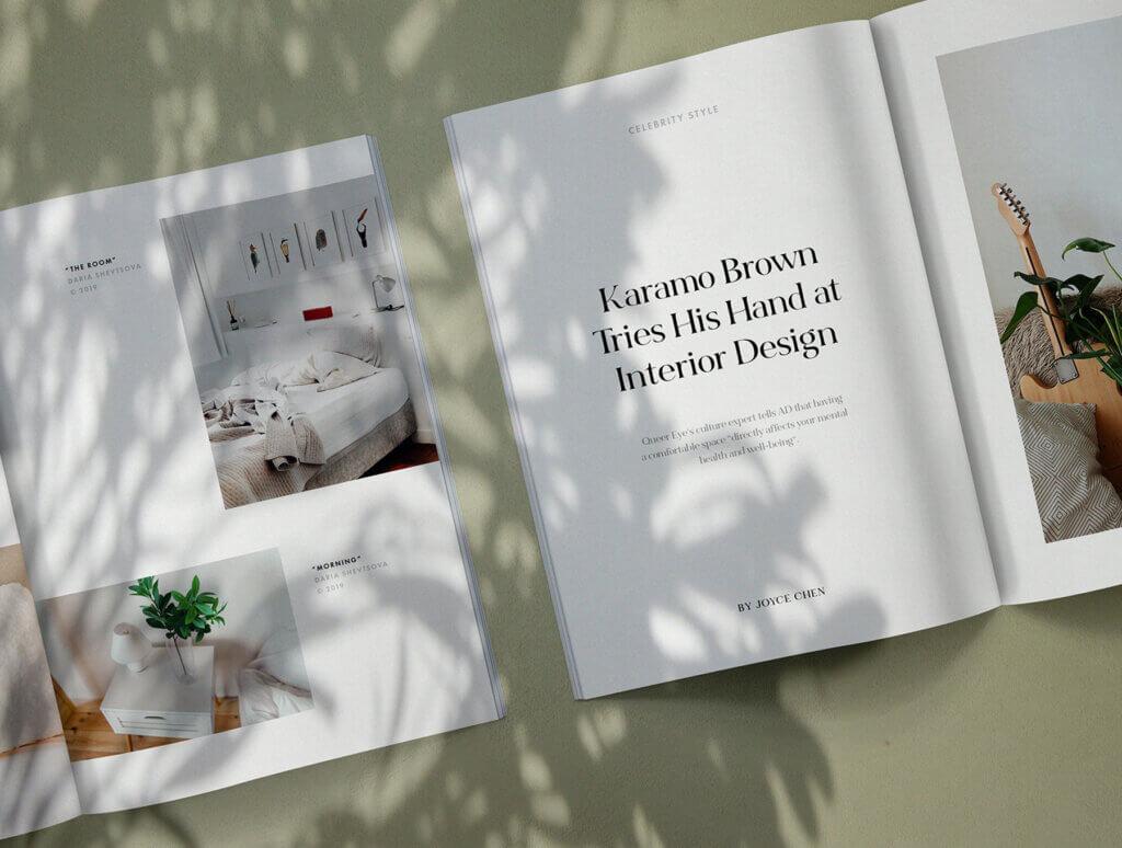 简约设计风格杂志样机工具包Suno Magazine Mockup Kit插图(5)