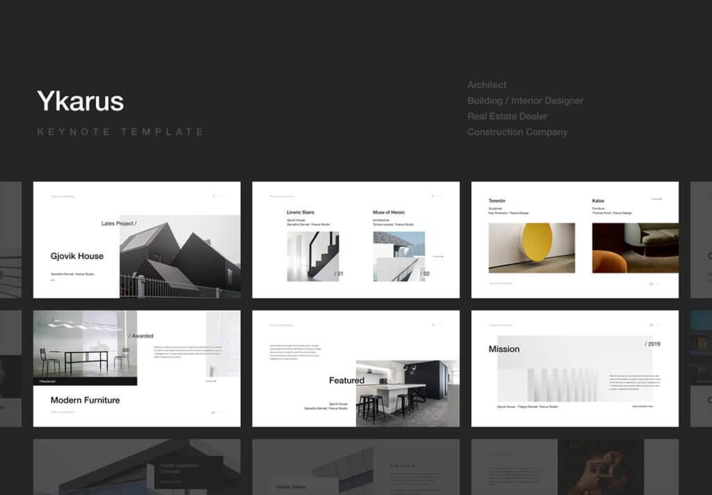 70张工业产品设计网站素材模板素材下载Ykarus Keynote Presentation Template插图