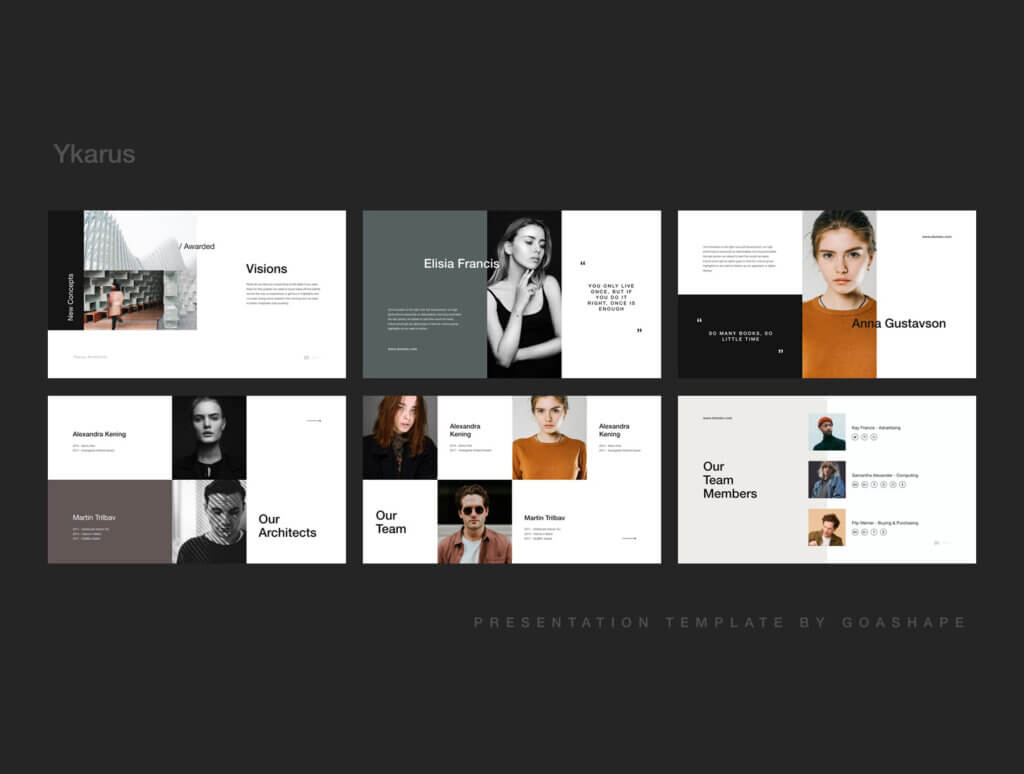 70张工业产品设计网站素材模板素材下载Ykarus Keynote Presentation Template插图(2)