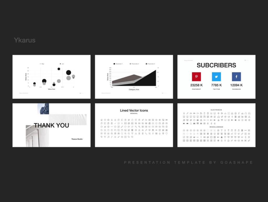 70张工业产品设计网站素材模板素材下载Ykarus Keynote Presentation Template插图(11)