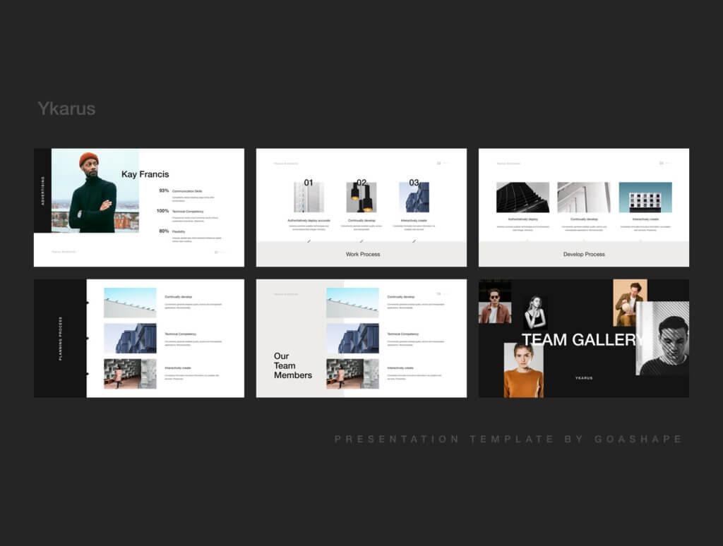 70张工业产品设计网站素材模板素材下载Ykarus Keynote Presentation Template插图(3)