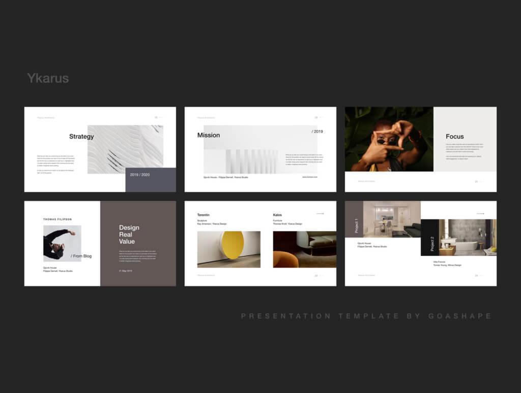 70张工业产品设计网站素材模板素材下载Ykarus Keynote Presentation Template插图(4)