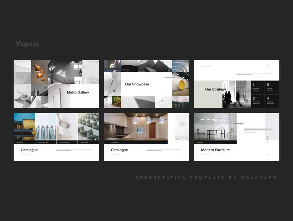 70张工业产品设计网站素材模板素材下载Ykarus Keynote Presentation Template插图(6)
