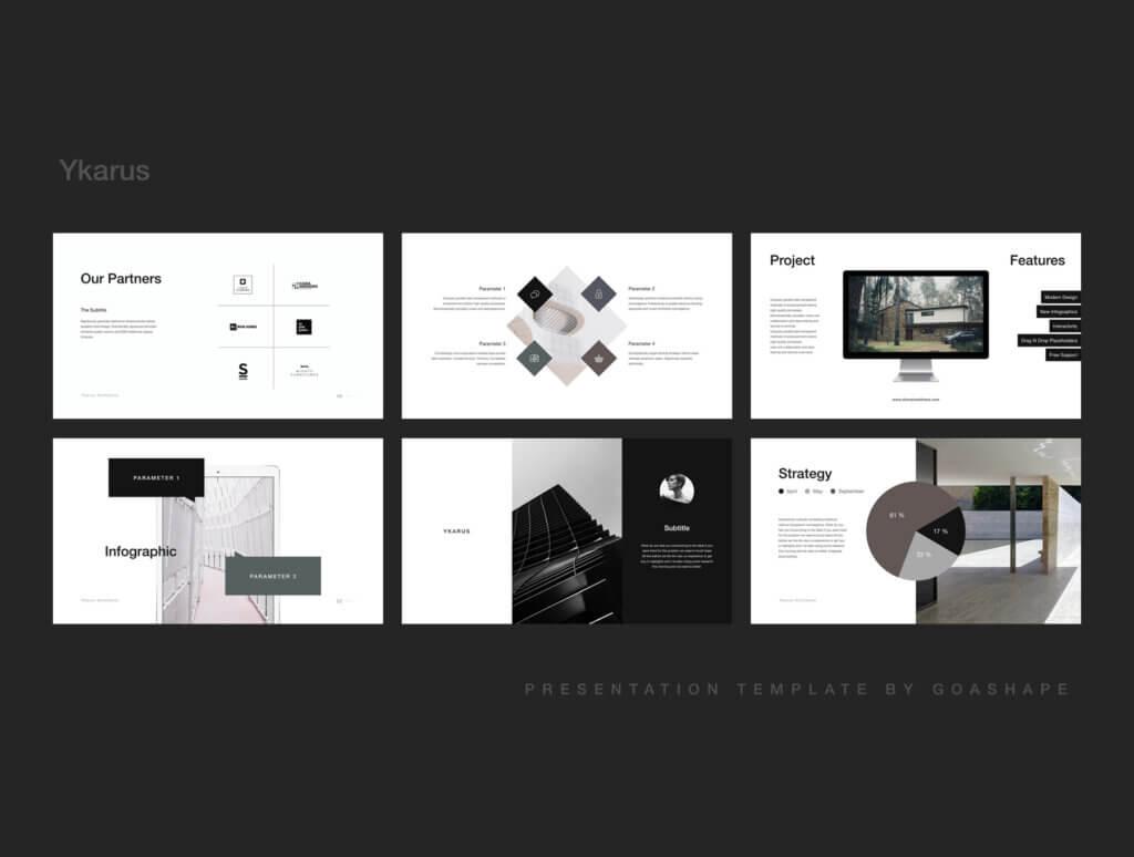 70张工业产品设计网站素材模板素材下载Ykarus Keynote Presentation Template插图(7)