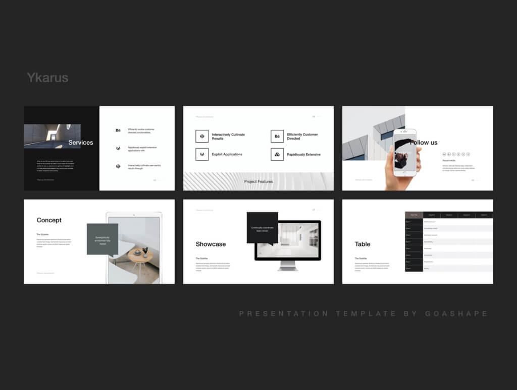 70张工业产品设计网站素材模板素材下载Ykarus Keynote Presentation Template插图(8)