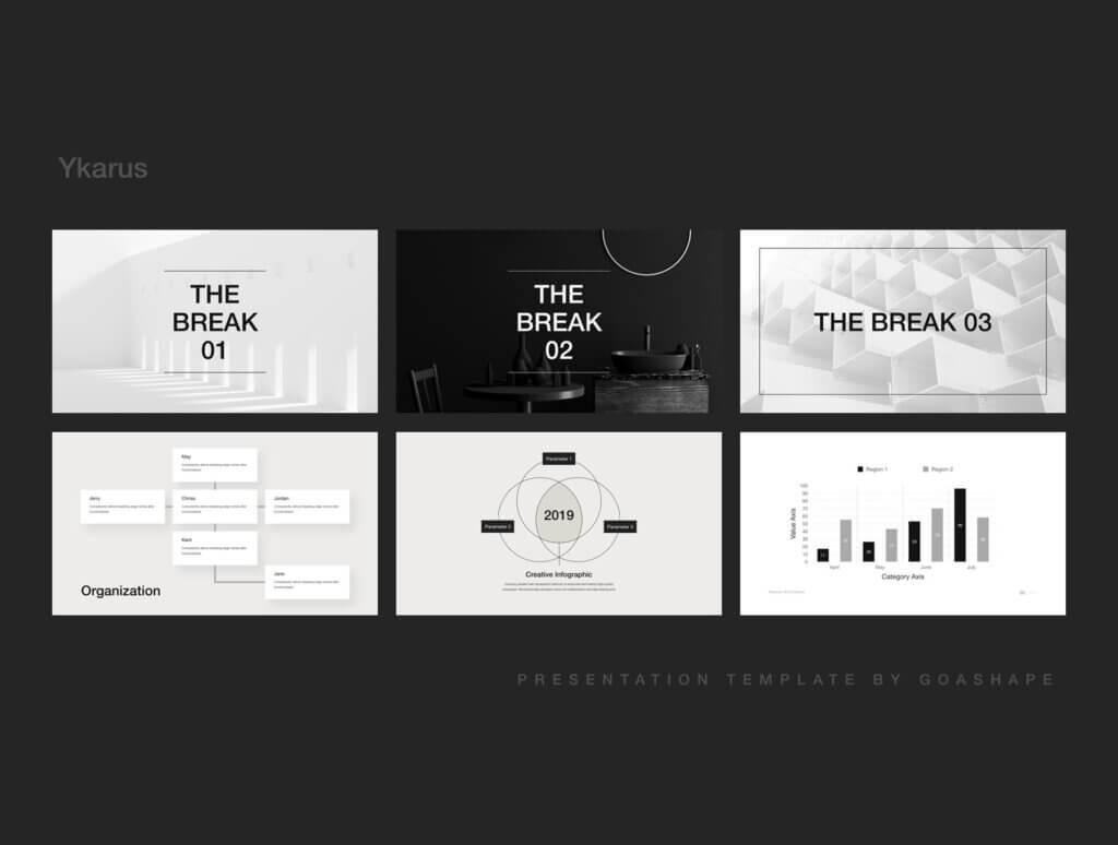 70张工业产品设计网站素材模板素材下载Ykarus Keynote Presentation Template插图(10)