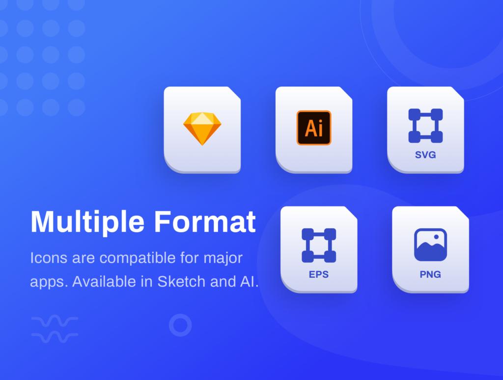 10个独特图标插图APP空状态图标ICON小插画Ordergan icon illustration插图(1)
