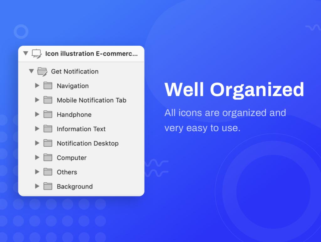 10个独特图标插图APP空状态图标ICON小插画Ordergan icon illustration插图(2)