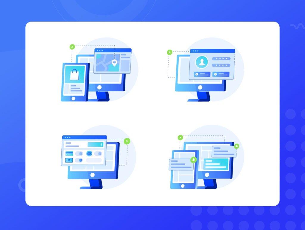 10个独特图标插图APP空状态图标ICON小插画Ordergan icon illustration插图(5)