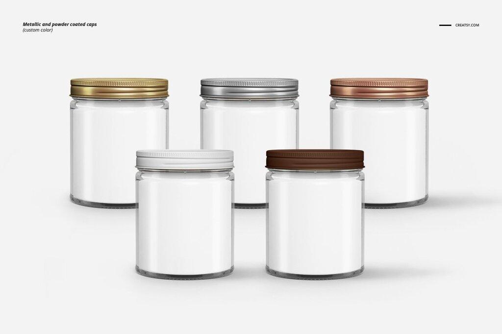 精致的蜡烛香薰玻璃杯包装设计展示样机品牌PSD智能贴图样机模版素材插图(6)