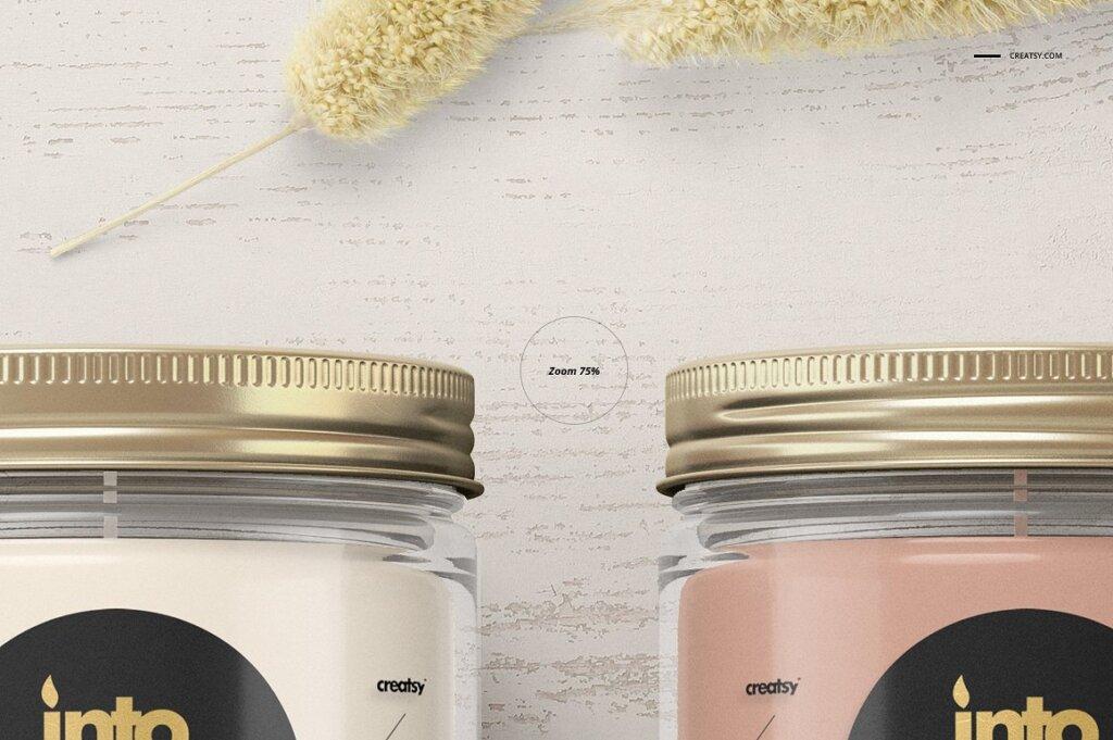 精致的蜡烛香薰玻璃杯包装设计展示样机品牌PSD智能贴图样机模版素材插图(8)