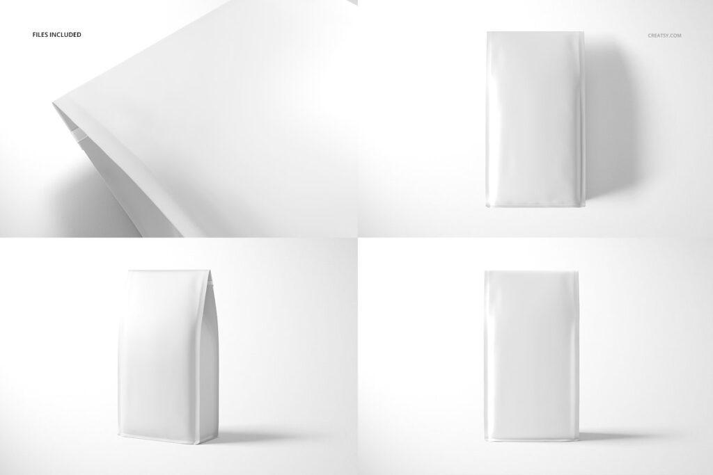 高端精品咖啡包装袋样机模板素材下载插图(3)