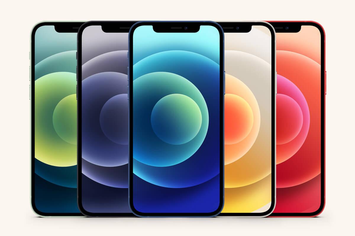 最新苹果手机iPhone 12样机合集素材插图