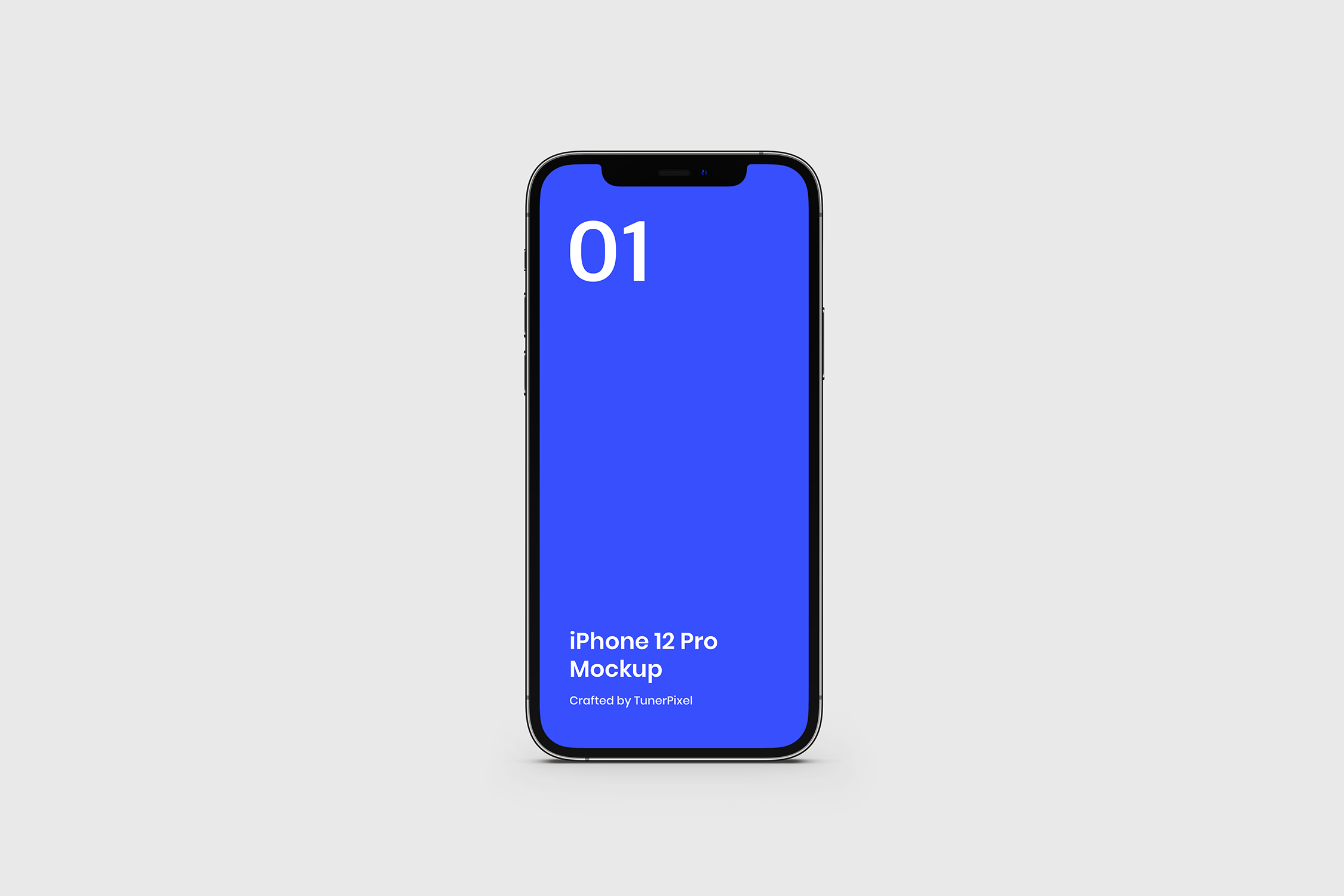 精致写实风格iPhone 12 Pro样机模版素材 GXXNGA9插图(1)