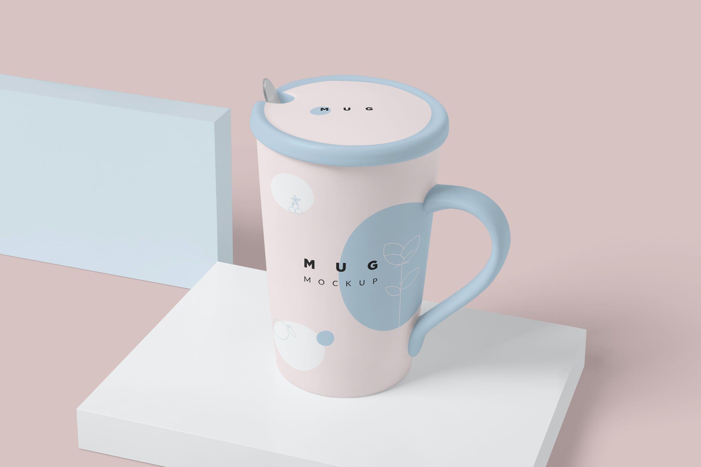漂亮文艺的杯子模型杯子样机NK2EN88插图