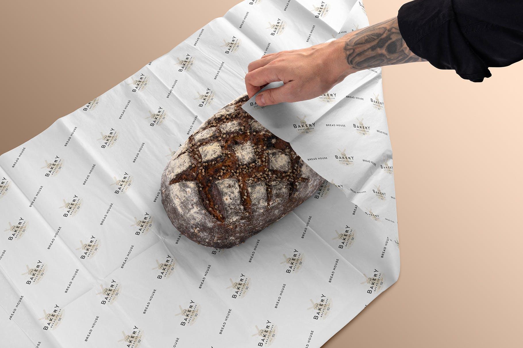 高端面包品牌样机模板素材下载 LWRTNF5插图(7)