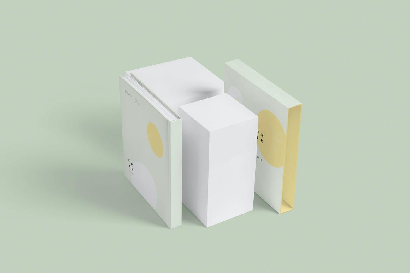 精装书幻灯片封面样机模型素材3G85WMM插图(7)