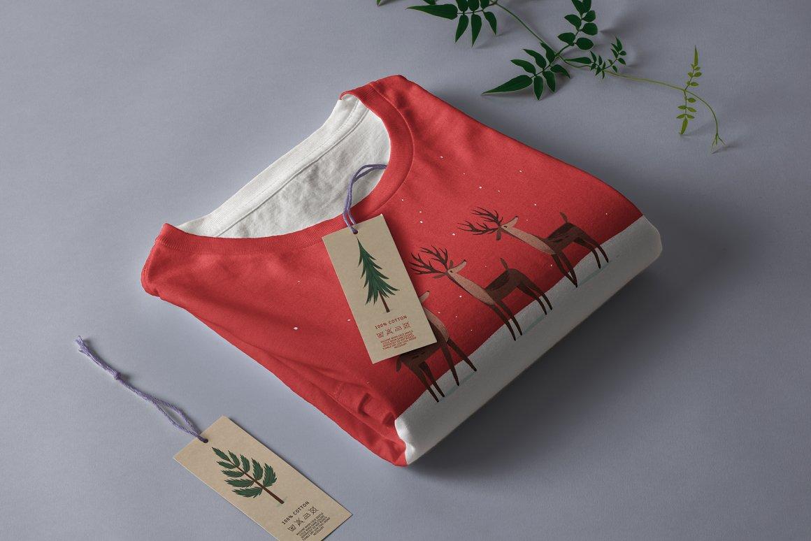 圣诞节品牌包装装饰图案纹理素材下载插图(1)