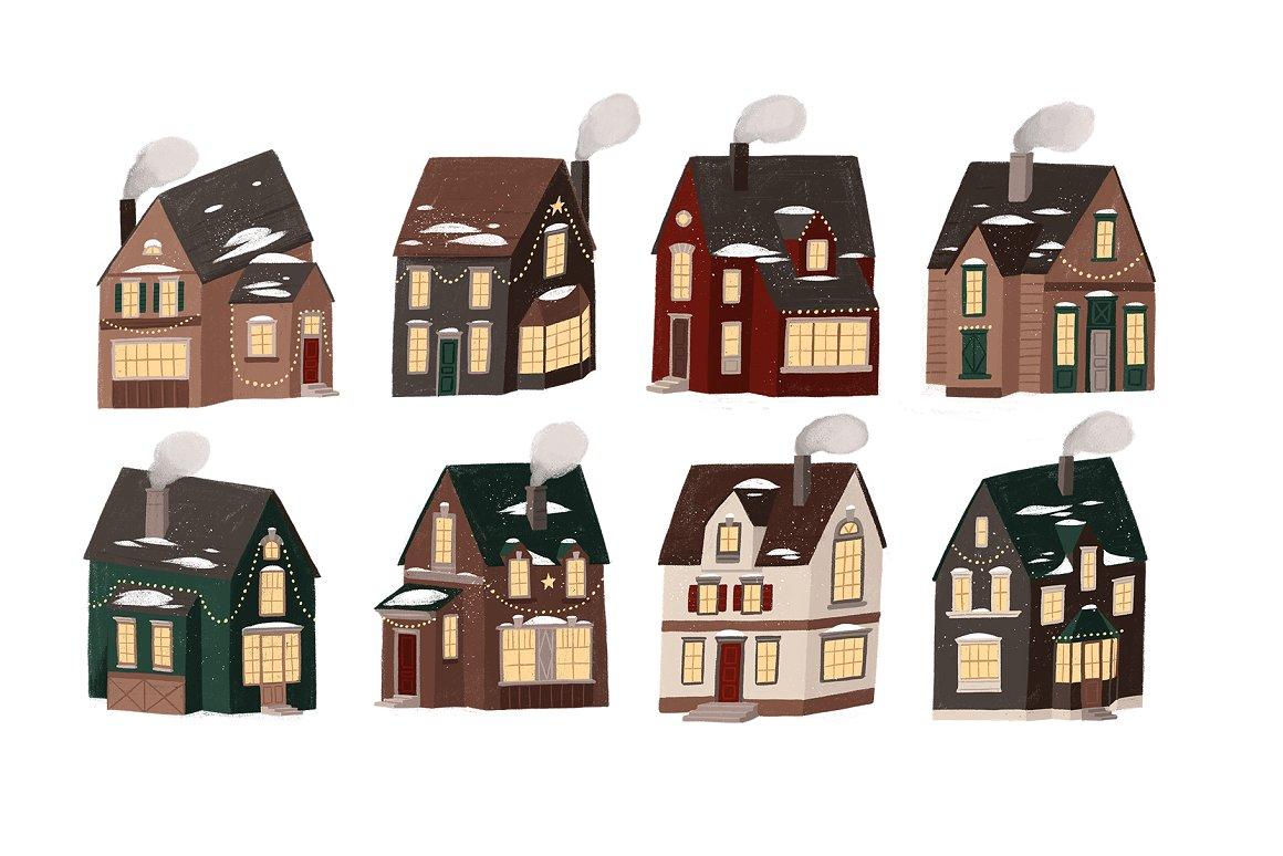 圣诞节品牌包装装饰图案纹理素材下载插图(2)