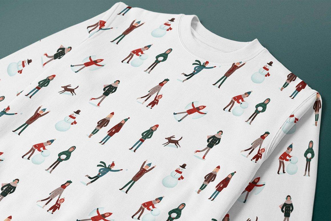 圣诞节品牌包装装饰图案纹理素材下载插图(5)