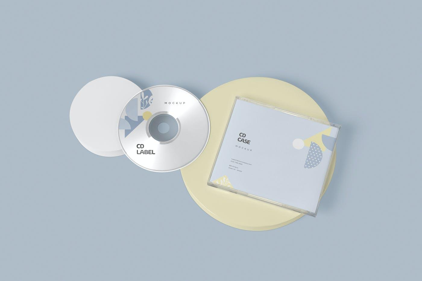 古典音乐CD标签和包装盒样机模版素材9GZQ7EC插图(3)