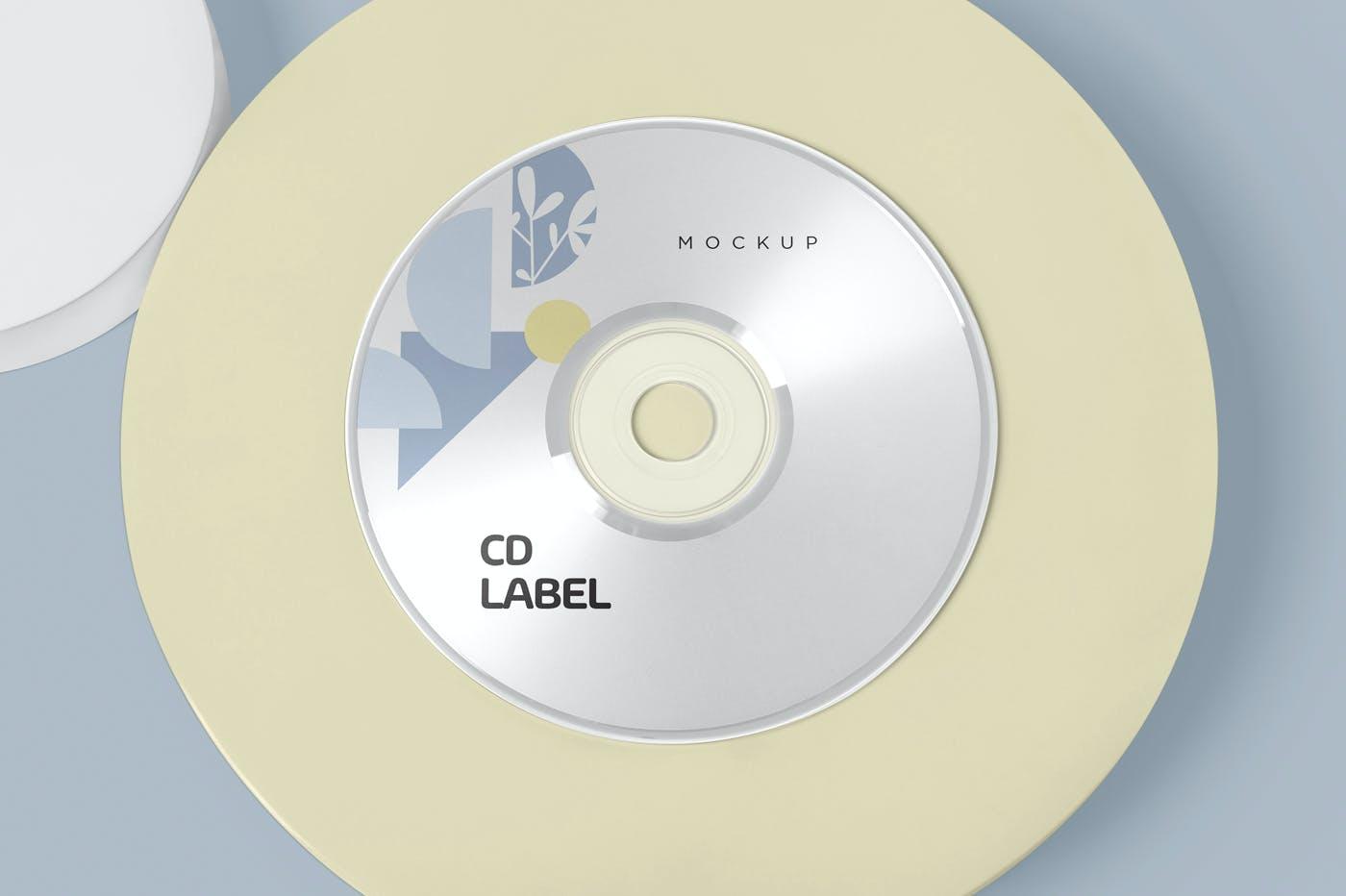 古典音乐CD标签和包装盒样机模版素材9GZQ7EC插图(4)